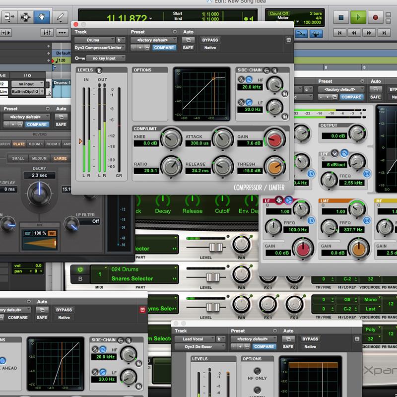 Declare Studios Protools Recording