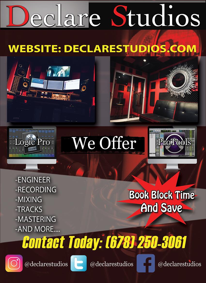 Free Studio Time Atlanta, GA