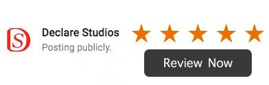 Declare Studios Google Review